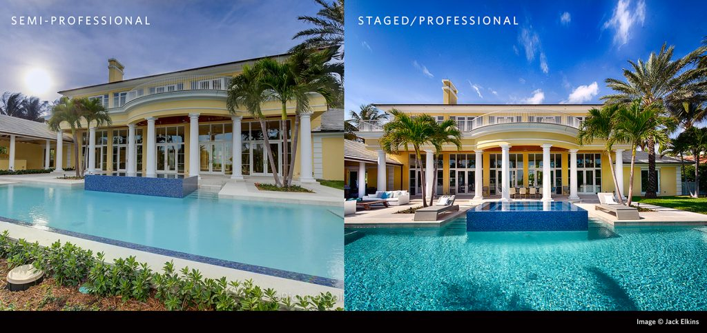 before and after professional photos for real estate